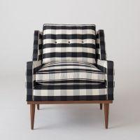 Jack Chair - Windowpane Plaid | Furniture, Jack o'connell ...