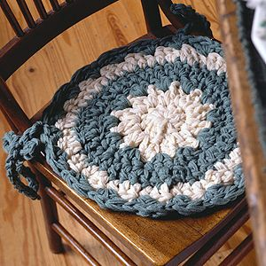 how to make chair cushions for kitchen chairs round table with 4 charming pad crochet epattern | pads, patterns and