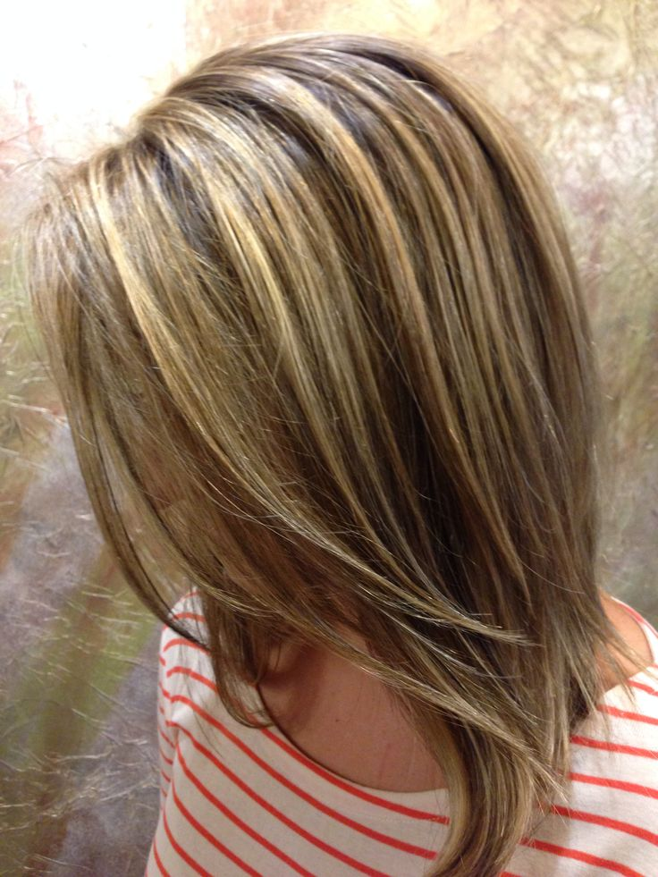 Brown hair Lowlights Highlights  Hair Styles