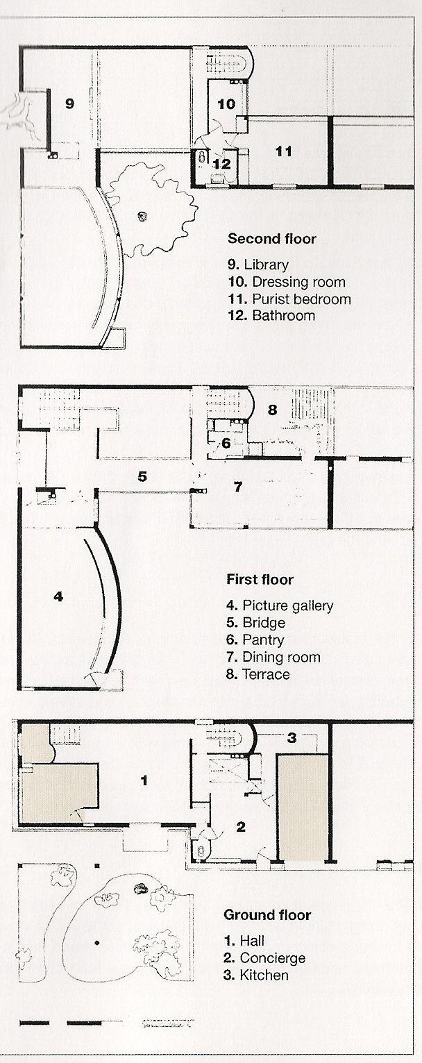 FR, Paris, Villa La Roche, Architect Le Corbusier, 1925