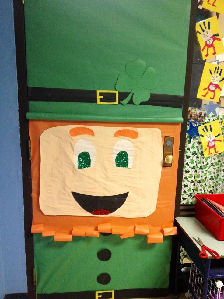 Classroom door for March