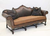 Old Hickory Tannery Big Easy Western Sofa Western Sofas ...