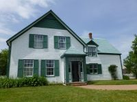 Anne of Green Gables House on Prince Edward Island; white ...