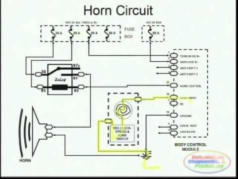 vw golf mk1 ignition wiring diagram 1999 f250 fuse panel horns & | ford explorer 1998 / car maintenance tips pinterest horns, http ...