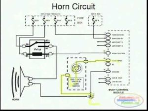 Horns & Wiring Diagram | FORD EXPLORER 1998  CAR