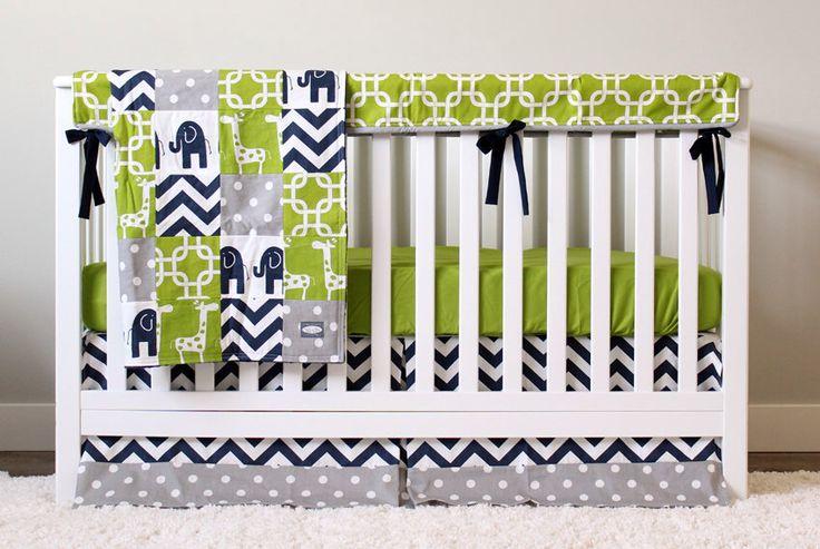 1000+ ideas about Elephant Crib Bedding on Pinterest