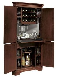 Corner Liquor Cabinet Bar - WoodWorking Projects & Plans
