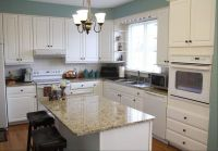 kitchens with white appliances | White cabinets and ...