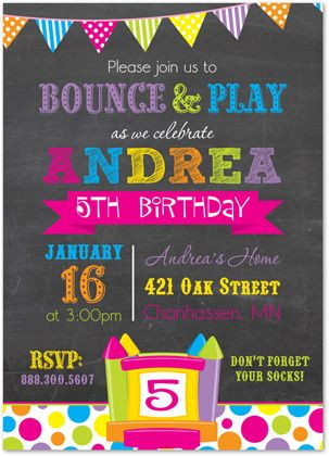 17 Best Images About Birthday On Pinterest Party Favors Bounce