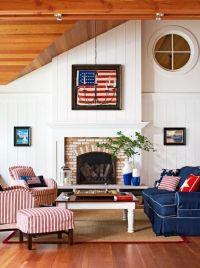 167 best images about Red White and Blue Decorating on ...
