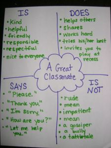 What makes a great classmate?