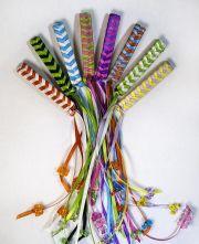 braided ribbon barrettes - remember