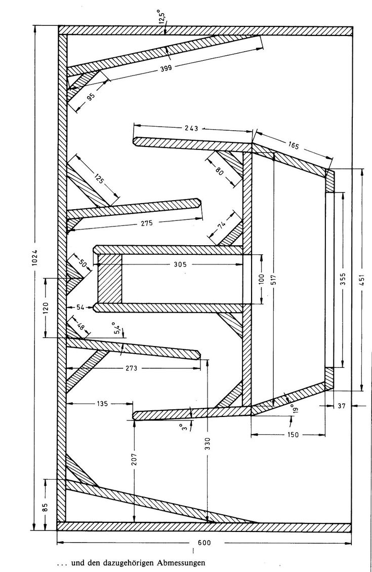 Folded Horn Subwoofer Plans - Auto Electrical Wiring Diagram