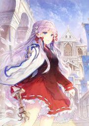 anime girl with katana