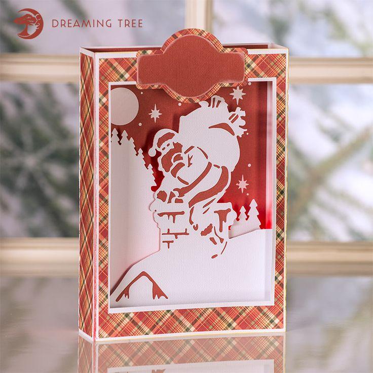 Download Santa Paperscape Box Card - FREE - Beautiful Christmas ...