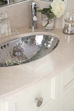 hammered silver bathroom sink  My Web Value
