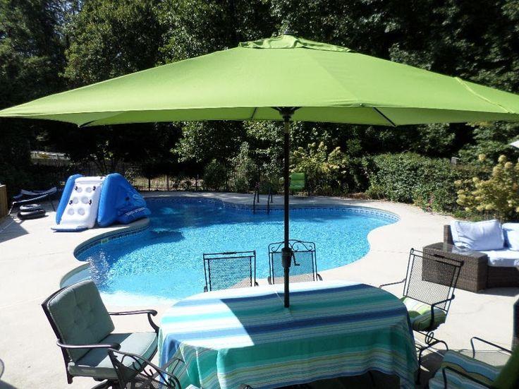 1000+ Ideas About Large Patio Umbrellas On Pinterest
