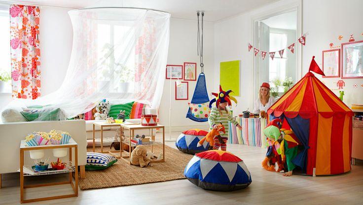 IKEA sterreich Inspiration Kinder Kids WOHNZIMMER ODER ZIRKUSMANEGE Wohnzimmer mit