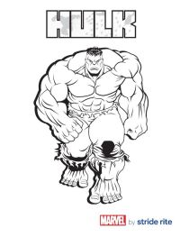 #Hulk Coloring Page | Andrews 6th bday | Pinterest ...