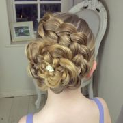 ideas flower braids