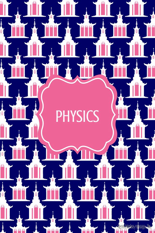 Lilly Pulitzer Wallpaper Quotes Physics Binder Cover Binder Covers Pinterest Binder