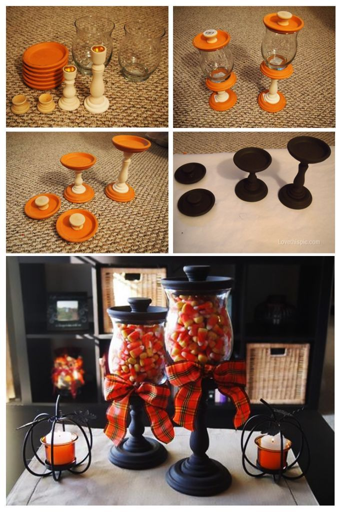 DIY Candy Jars Pictures, Photos, and Images for Facebook, Tumblr, Pinterest, and Twitter. Ive seen other varieties of jars like this but these are the cutest!
