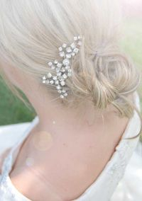 Best 25+ Wedding Hair Brooch ideas on Pinterest