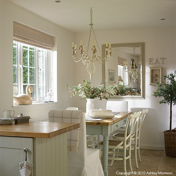 Dining area in kitchen  dining room  Pinterest  Window