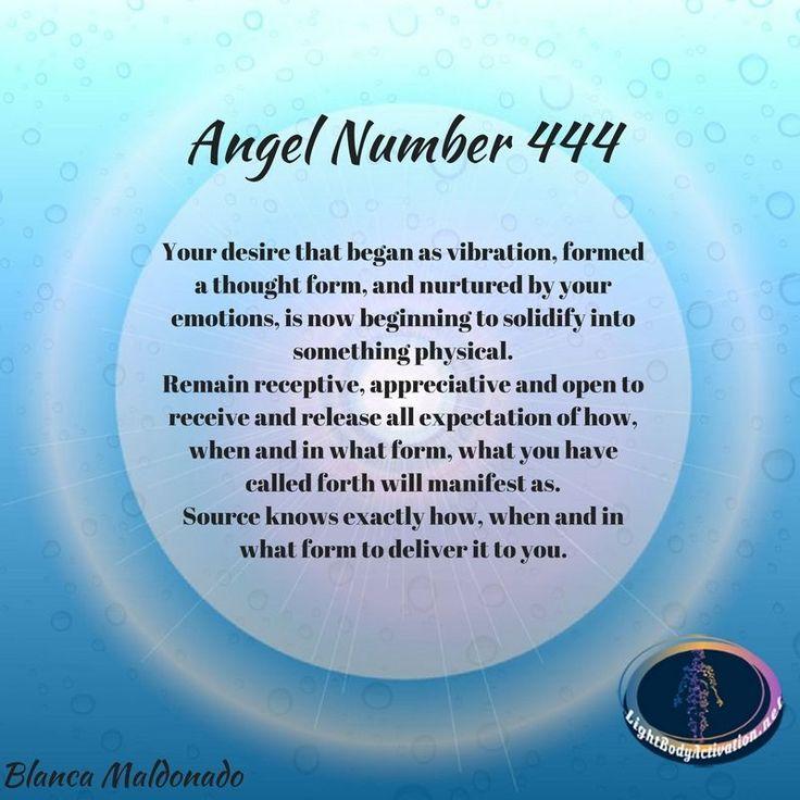 444 Angel Number Meaning Doreen Virtue - Idee per la decorazione di