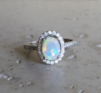 25+ best ideas about Opal engagement rings on Pinterest ...