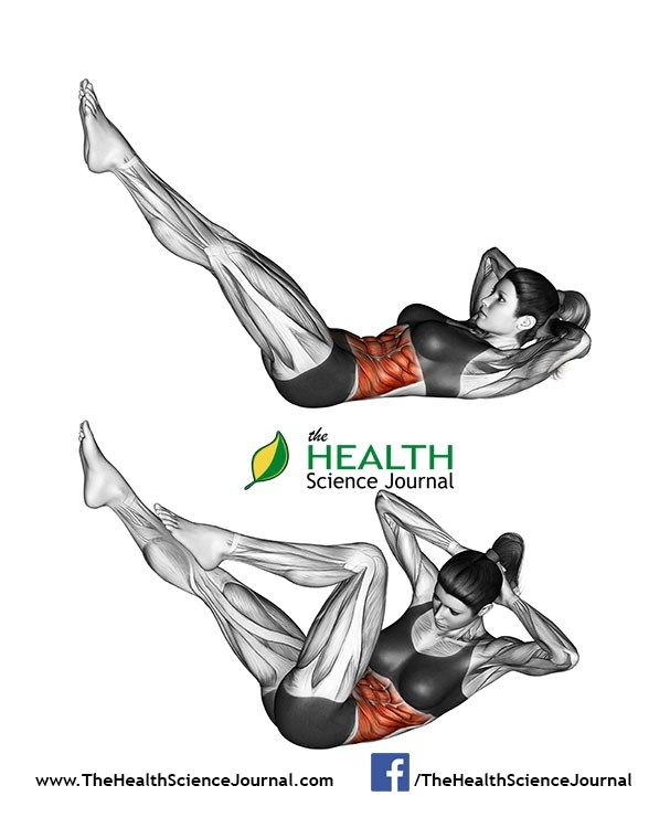 17 Best ideas about Bicycle Crunches on Pinterest