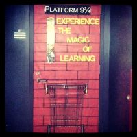 Platform 9 3/4 classroom door! | harry potter | Pinterest ...