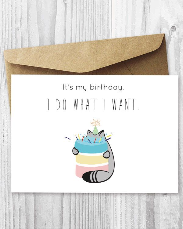 25 Best Ideas About Cat Birthday Cards On Pinterest Cat