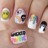 25+ best ideas about Hippie Nails on Pinterest | Hippie ...