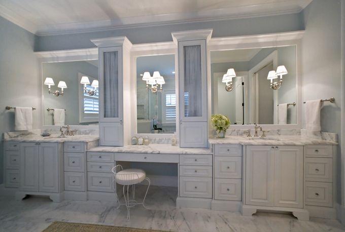 In lovemost beautiful bathroom House of Turquoise Studio M Interior Design  Bathrooms
