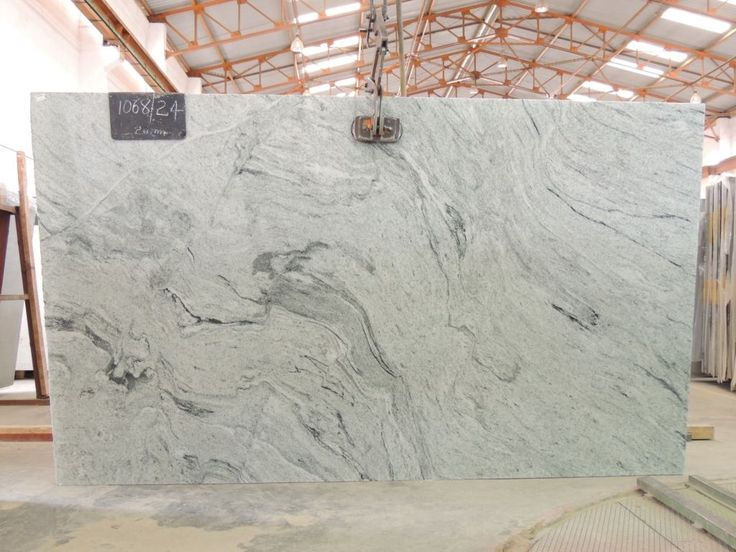white and silver granite  Silver Cloud Unique Series