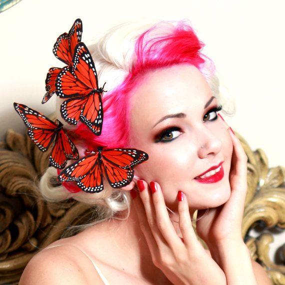 1000 Ideas About Butterfly Hair On Pinterest Butterfly