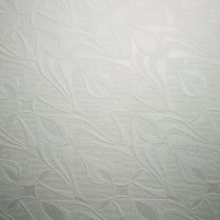 Tulipa Wallpaper by Halima Cassell - Paintable White Wall ...