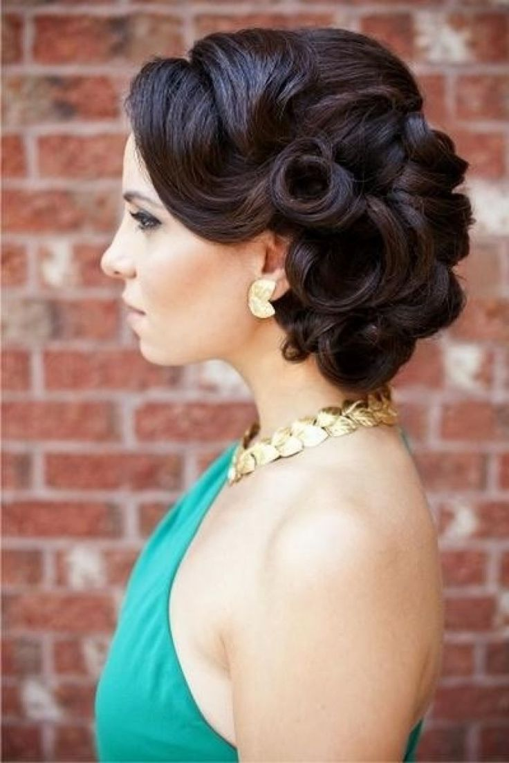25 best ideas about Vintage updo on Pinterest  Vintage