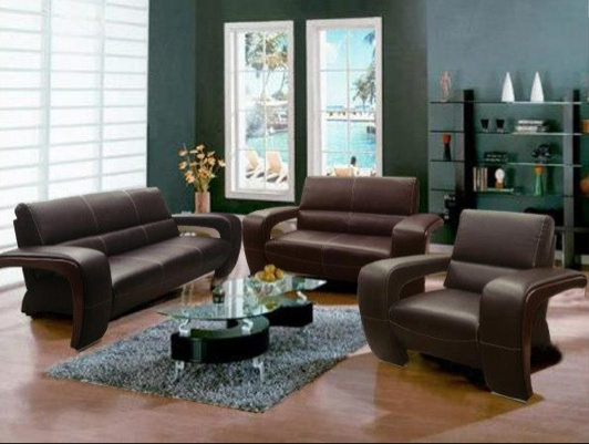 brown leather and fabric sectional sofa new design 2017 in india sala chocolate #troncoso | salas troncoso pinterest ...