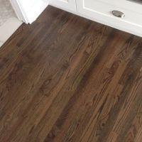dark stain on original oak floors | Hillcrest House ...