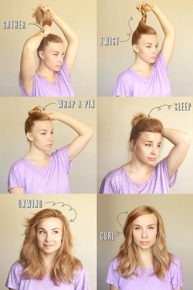 16 Best Images About Step By Step Hair Styles On Pinterest