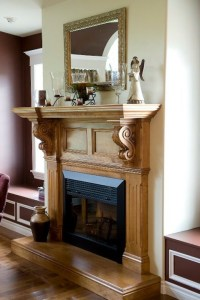 1000+ ideas about Wood Fireplace Surrounds on Pinterest ...