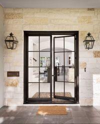 25+ best ideas about Black front doors on Pinterest ...