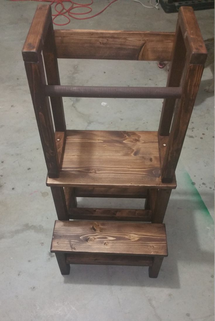 17 Best ideas about Kids Stool on Pinterest  Kids step stools 3 step stool and Learning tower
