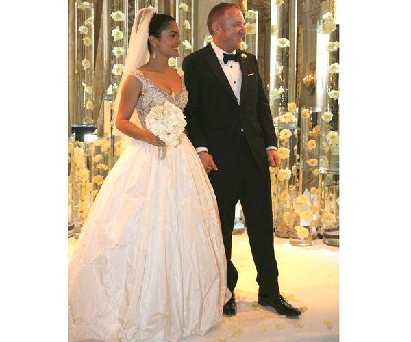 Boda de Salma Hayek. #wedding #dress #bride #celebrity #