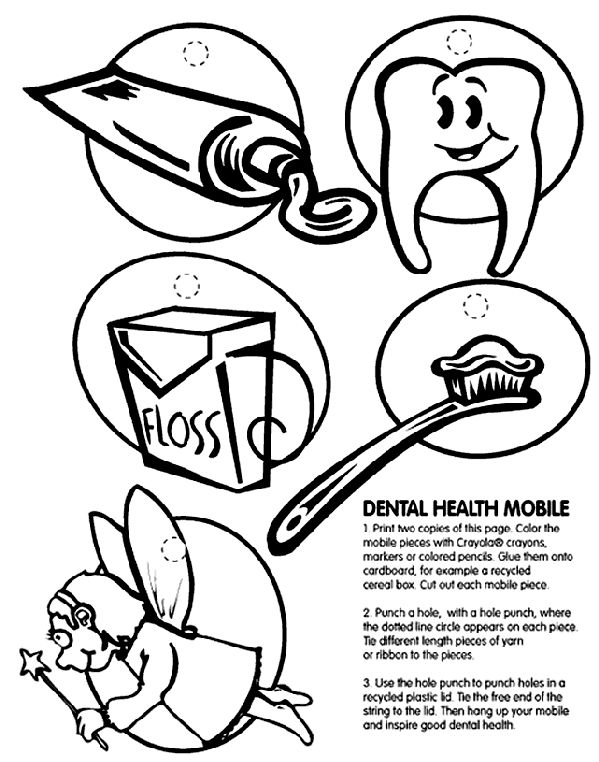 30 best Kid's Dental Coloring Pages & Printables images on
