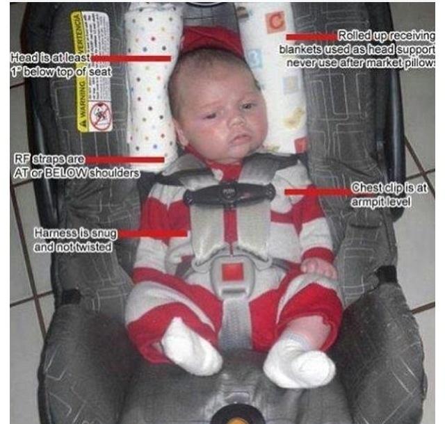 infant car seat fit