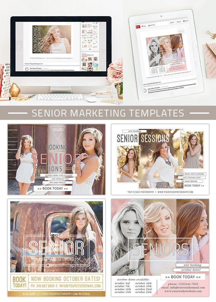 Senior Marketing Templates Covergirl Collection Advertising Advertising Ideas And Senior