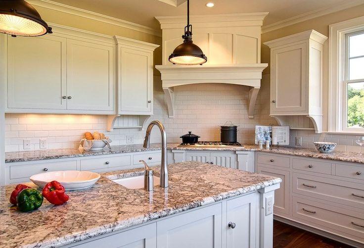 Beautiful kitchen with ivory kitchen cabinets  kitchen